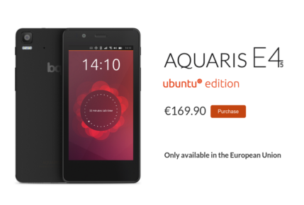 Aquaris E4.5 Ubuntu Edition