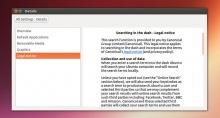 Правовая информация Ubuntu 13.04