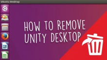 как удалить Unity в Ubuntu
