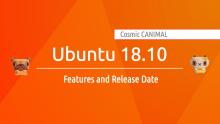 Ubuntu 18.10 Cosmic Canimal