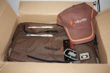 посылка с атрибутикой Ubuntu