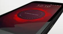 Телефон с Ubuntu Touch