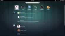 Улучшенный экран поиска GNOME 3.8