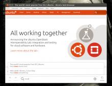 браузер Ubuntu Touch
