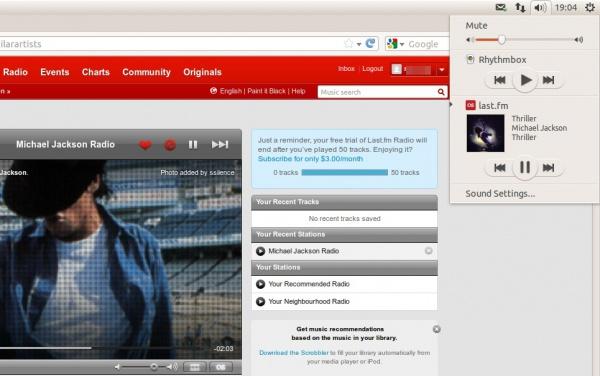 last.fm Web App