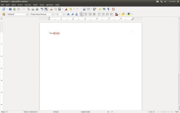 количество слов в LibreOffice 3.6