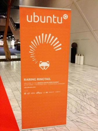 маскот Ubuntu 13.04 Raring Ringtail