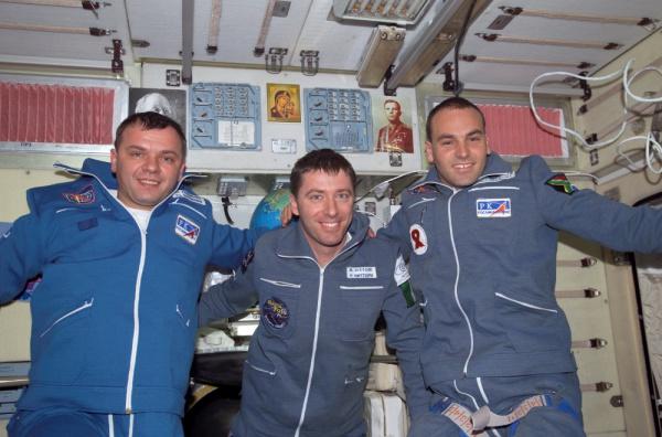 Марк Шаттлворт в космосе