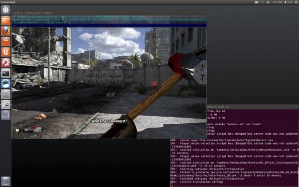 Serious Sam 3:BFE под Ubuntu Linux