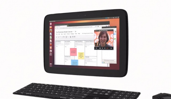 планшет на Ubuntu