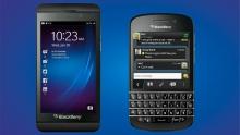 Blackberry Z10 и Q10