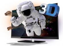 Трехмерные телевизоры