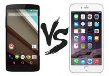 Android 5.0 vs iOS 8