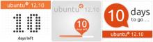 счетчики обратного отсчета Ubuntu 12.10