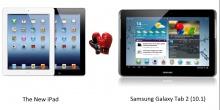 iPad 3 и Galaxy Tab 2