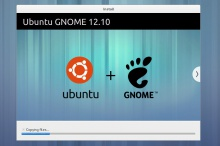 установщик Ubuntu GNOME Remix 12.10