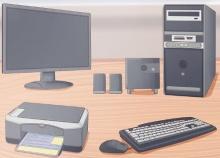 установка компьютера
