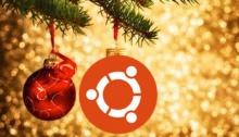 Новогодняя Ubuntu