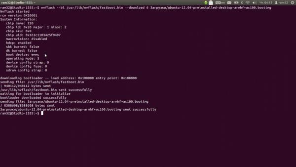 прошивка bootimage от Ubuntu на AC100