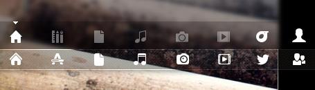 обновленные иконки линз в Ubuntu 13.04