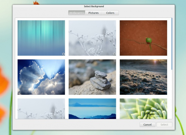настройка фона в GNOME Control Center 3.6