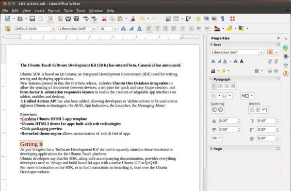 LibreOffice 4.1