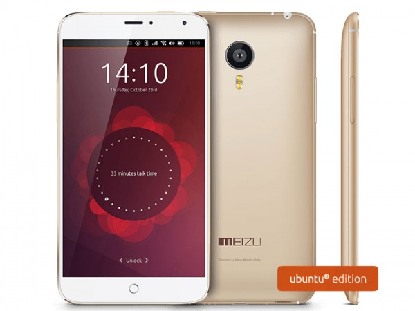 Meizu MX4 Ubuntu Edition