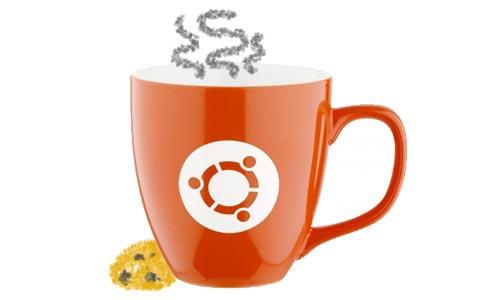 старая чашка Ubuntu