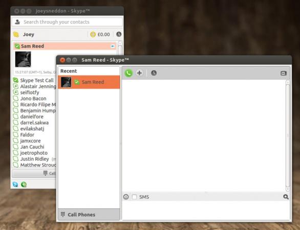 Linux Skype 4.0.0.8