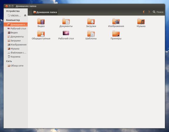 Nautilus 3.4 в Ubuntu 12.10