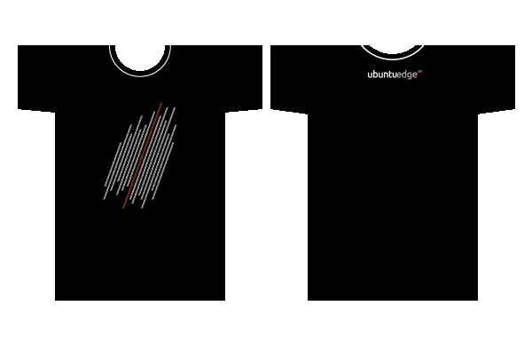 футболка Ubuntu Edge