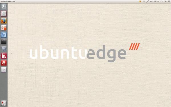 Обои Ubuntu Edge