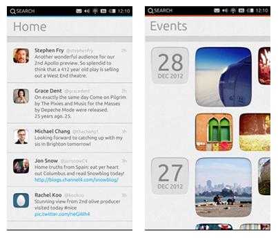 приложения Ubuntu Phone