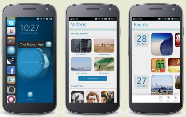 смартфоны под управлением Ubuntu Phone OS